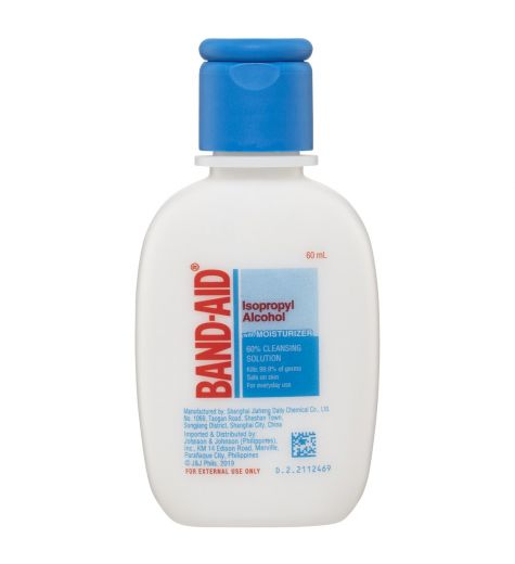 Band-Aid Isopropyl Alcohol With Moisturiser 60ml