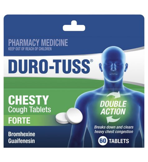 Durotuss Chesty Cough Forte Tablets 60