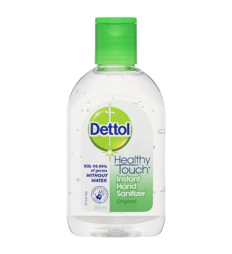 Dettol Healthy Touch Instant Hand Sanitiser 200ml