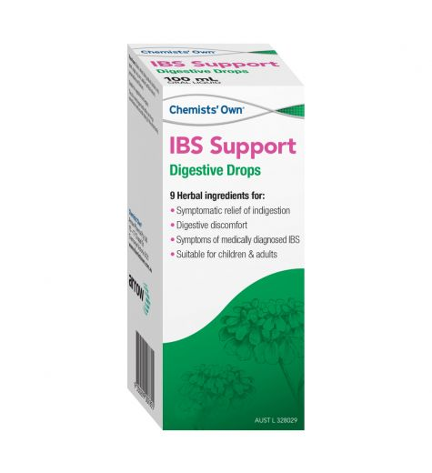Chemists Own IBS Support Digestive Drops 50ml