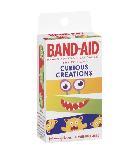 Band-Aid Curious Creations Waterproof Strips 15