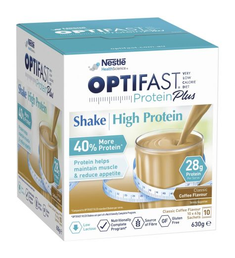 Optifast VLCD Protein Plus Coffee Shake 10 Pack