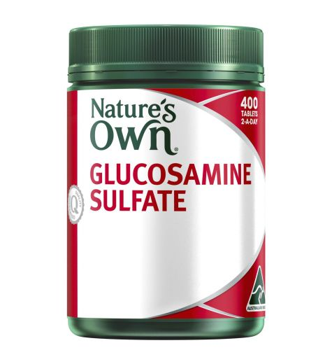 Natures Own Glucosamine Sulfate Tablets 400