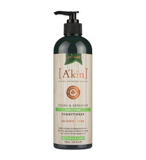 Akin Jojoba & Geranium Purifying Conditioner 500ml