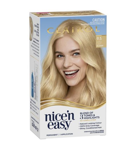 Clairol Nice 'N Easy 9.5 Natural Extra Light Blonde