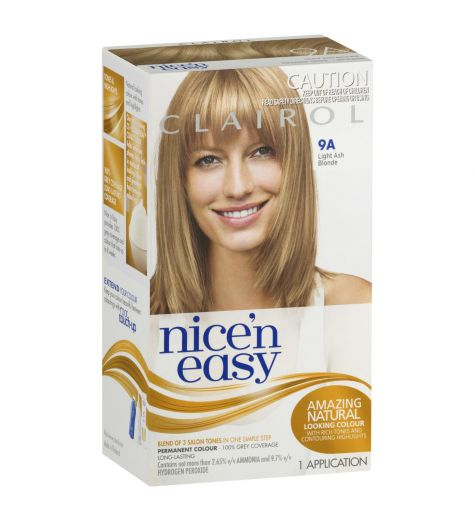 Clairol Nice 'N Easy 9A Natural Light Ash Blonde