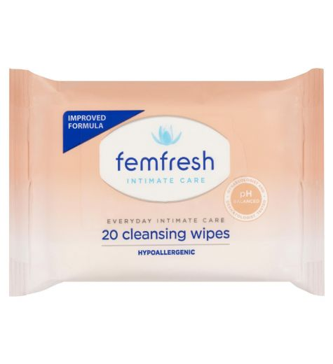Femfresh Feminine Cleansing Wipes 20 Pack