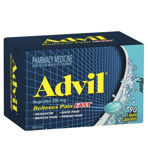 Advil Liquid Capsules 90