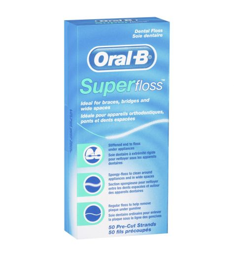 Oral B Superfloss 50