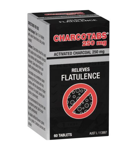 Charcotabs 250mg 60 Tablets