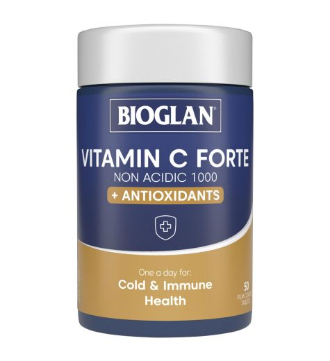Bioglan One-A-Day Vitamin C Forte 50 Tablets