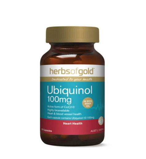 Herbs Of Gold Ubiquinol 150mg 60 Tablets