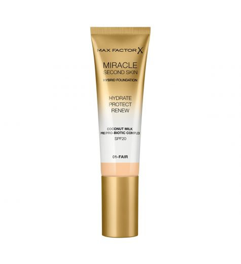 Max Factor Miracle Second Skin Hybrid Foundation