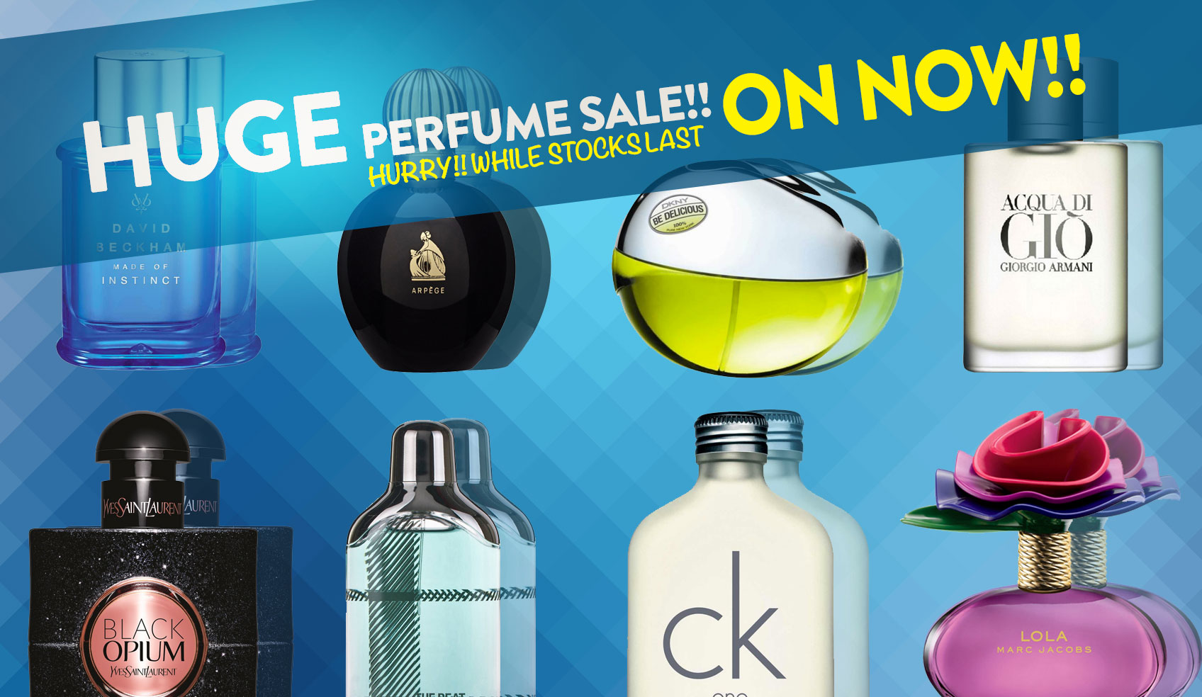Perfume Sale on Now