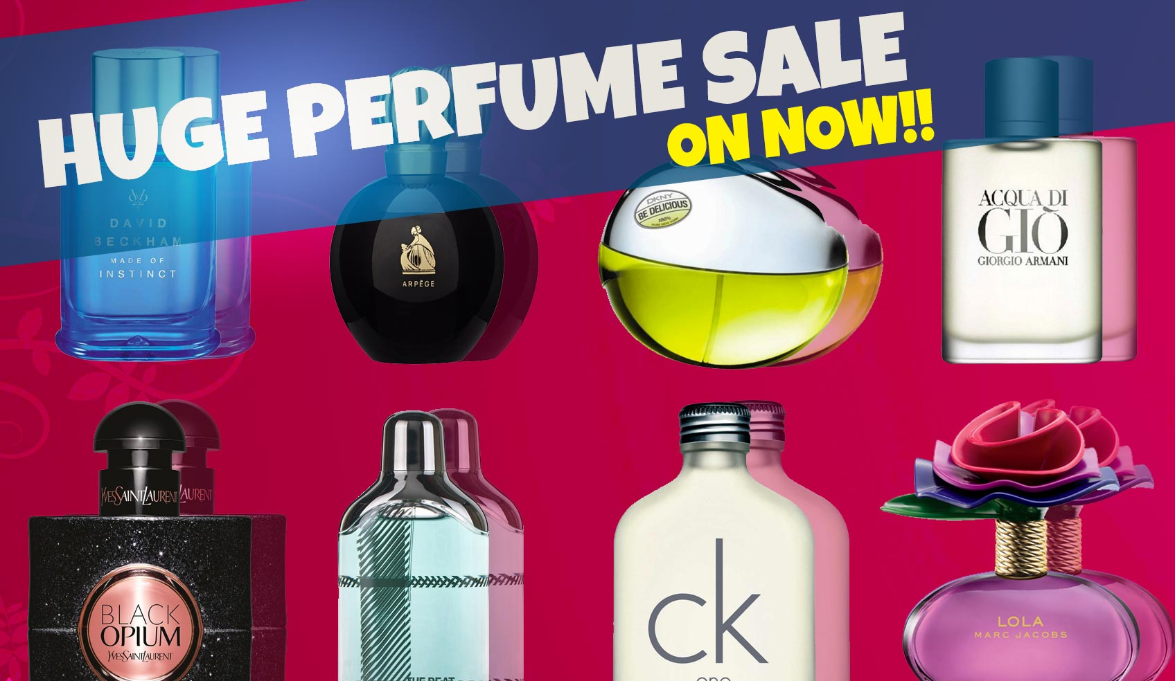 Perfume Sale On Now!