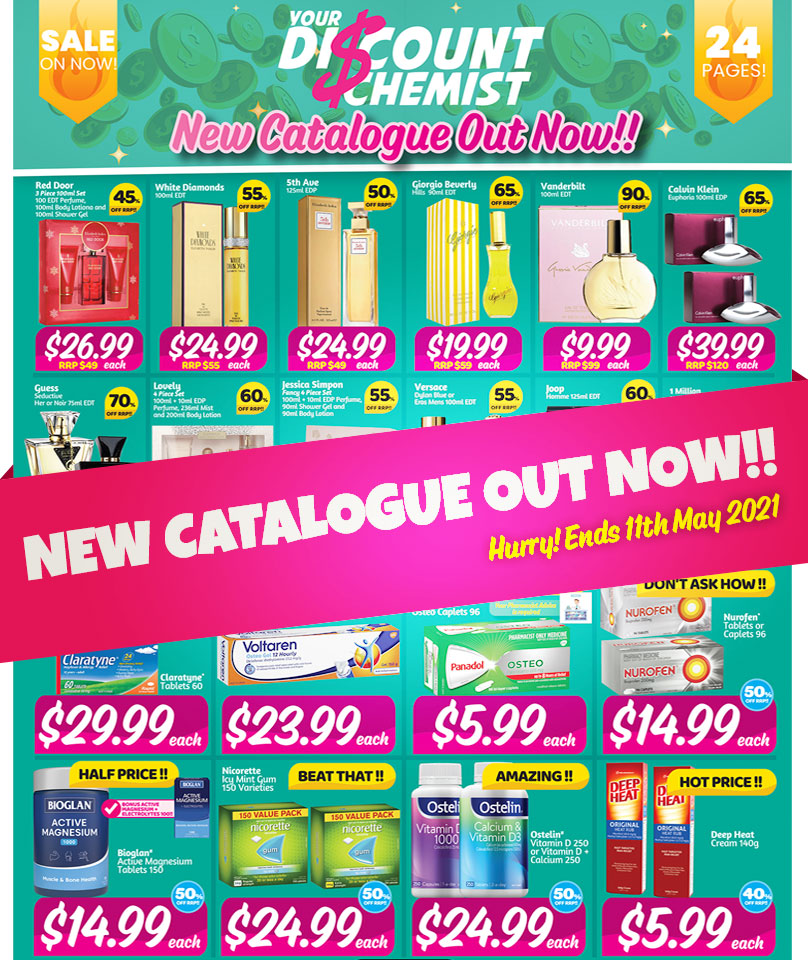 Catalogue Out Now!