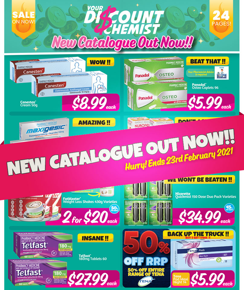 New Catalogue Out Now