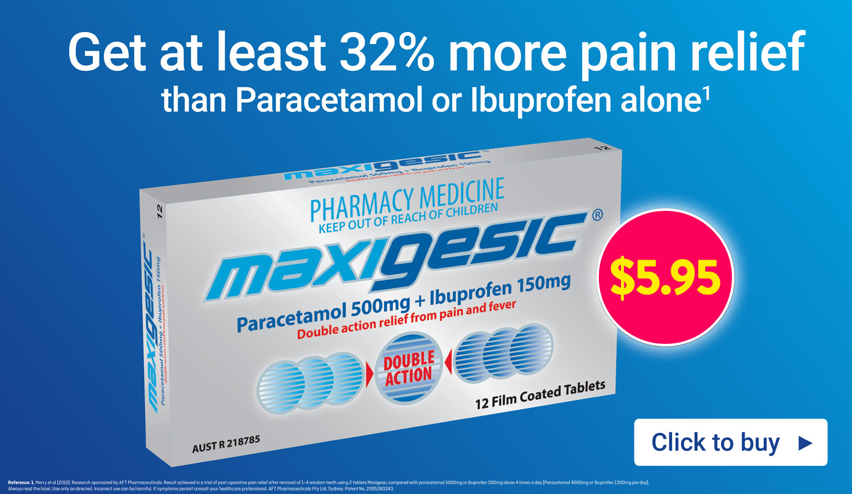Maxigesic For Pain Relief