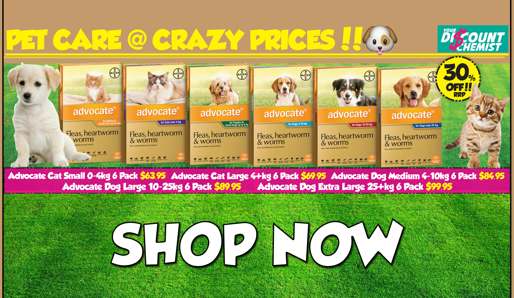 Shop Advocate for your Pet Today!