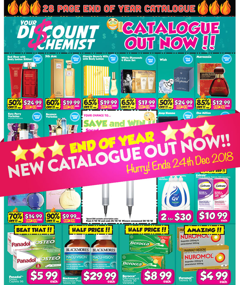 End of Year Catalogue Out Now!