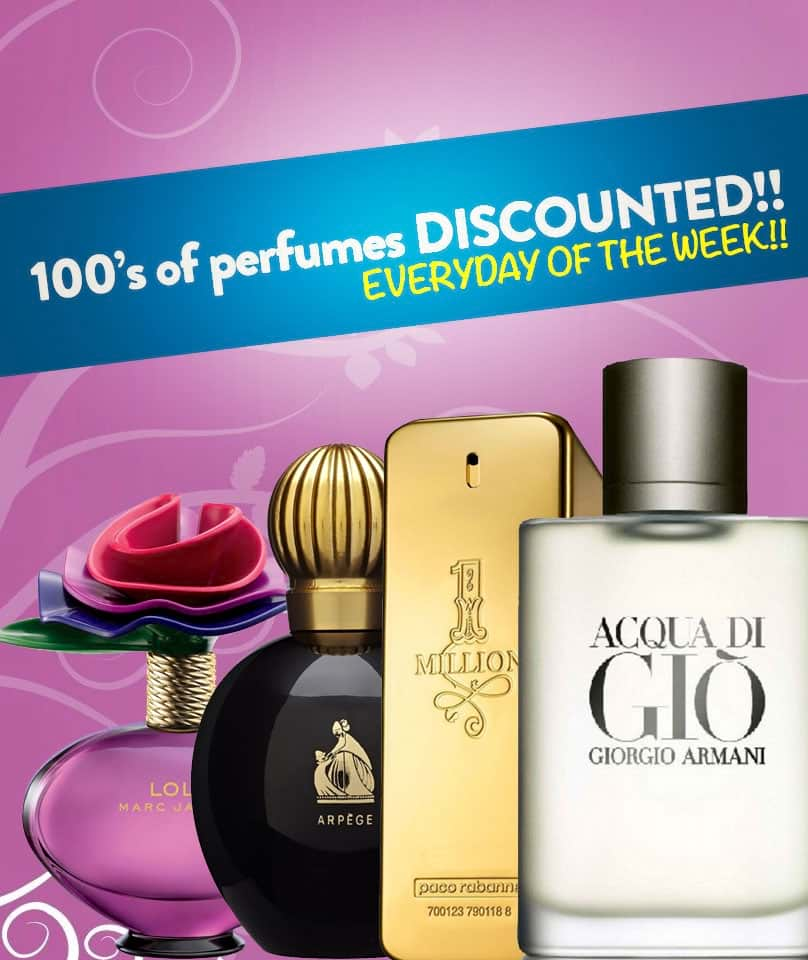 Perfumes at Discounted Prices